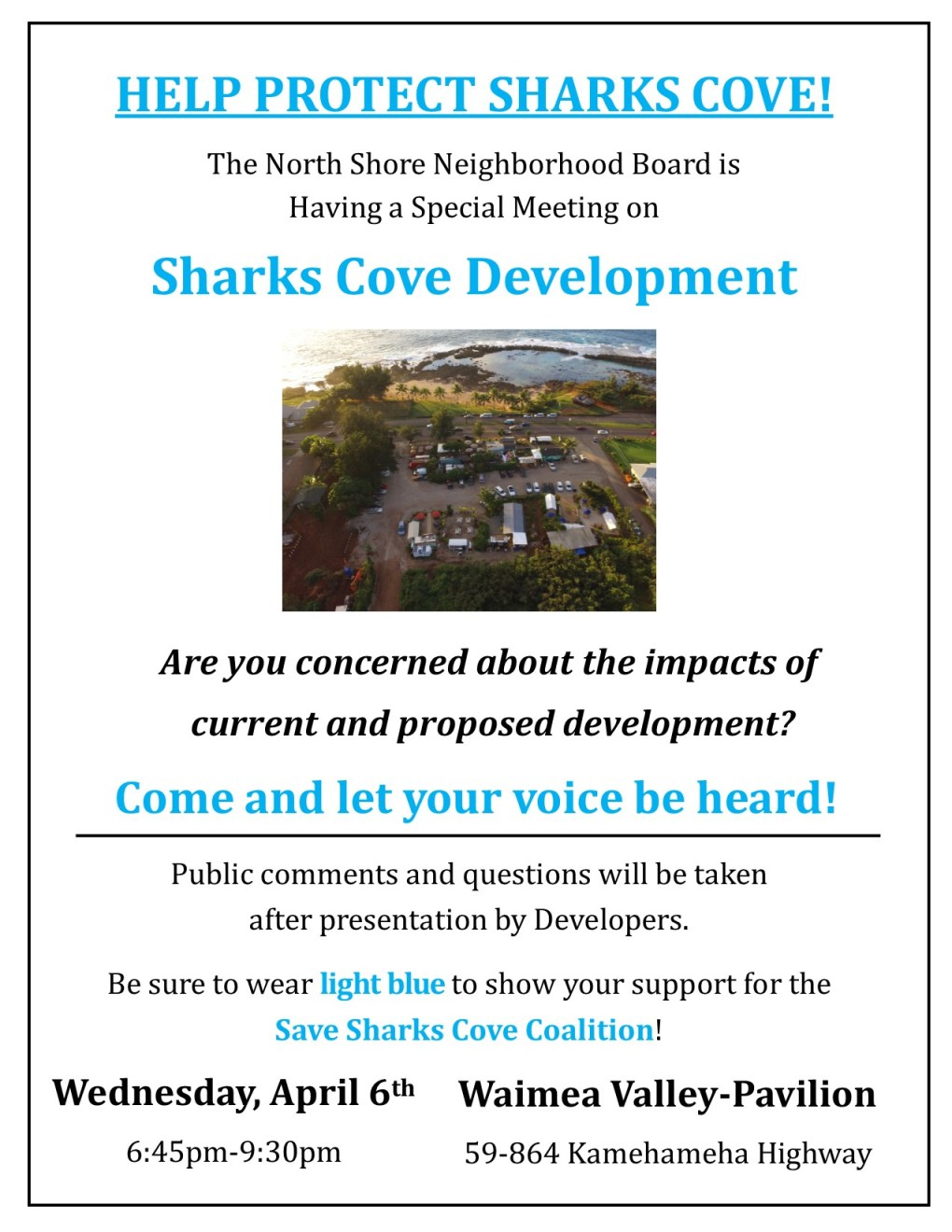 MPW-Sharks Cove NSNB Flyer