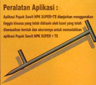 Pupuk Sawit Hemat Dan Efisien Petunjuk Pemakaian Pupuk NPK Super TE