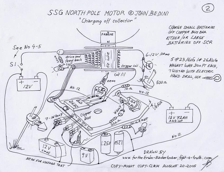 modified bedini ssg circuit