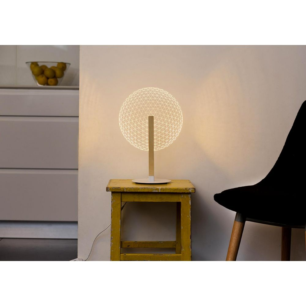 Lampe Sdb Bulbing Collection : Lampe Led Illusion 3d Bloom