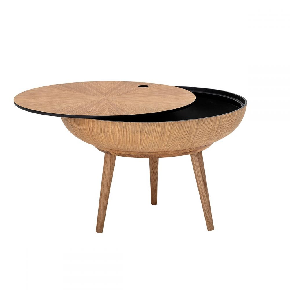 Table Ronde Basse Bois Table Basse En Bois Ronda Bloomingville