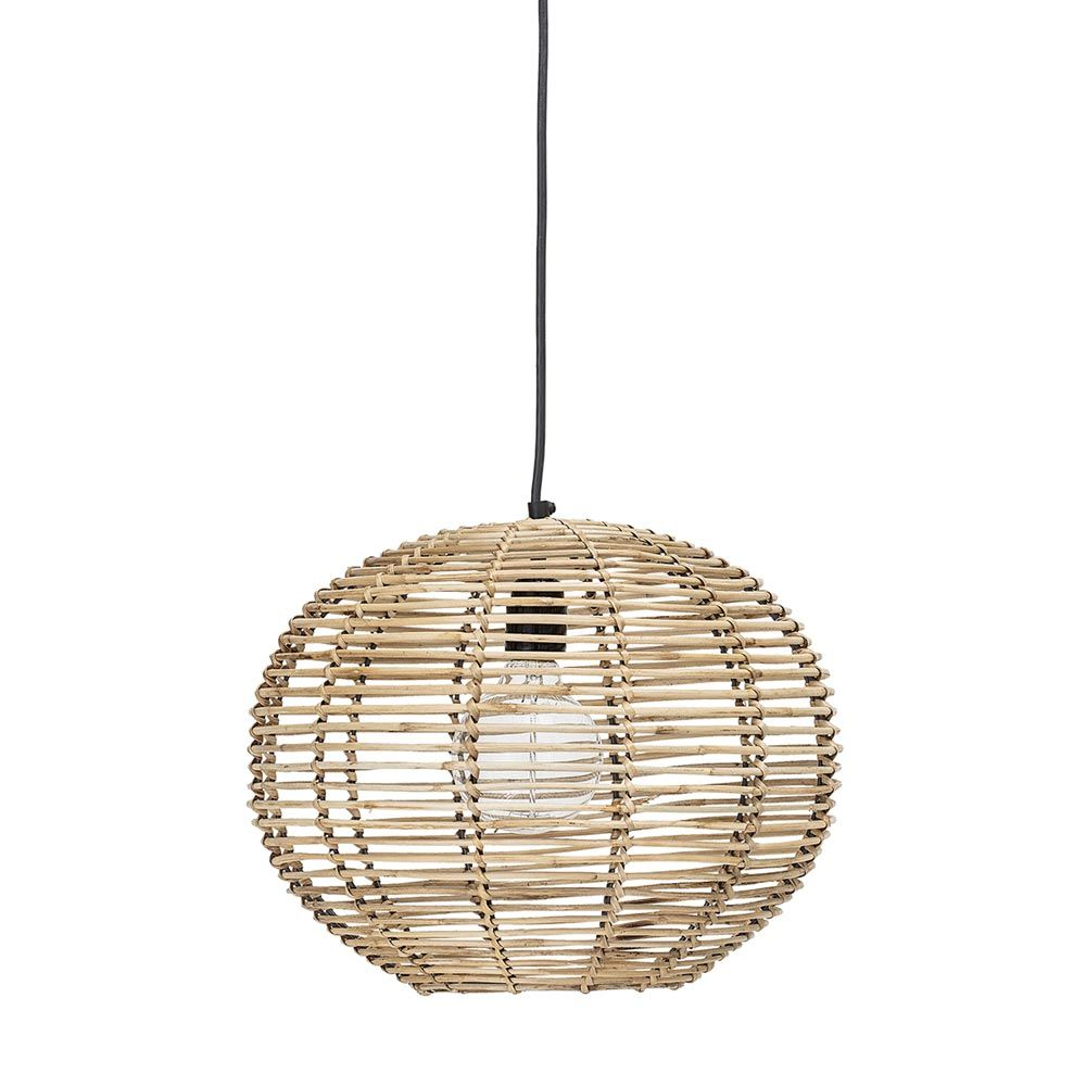 Suspension Ronde Suspension Boule En Rotin Class Bloomingville