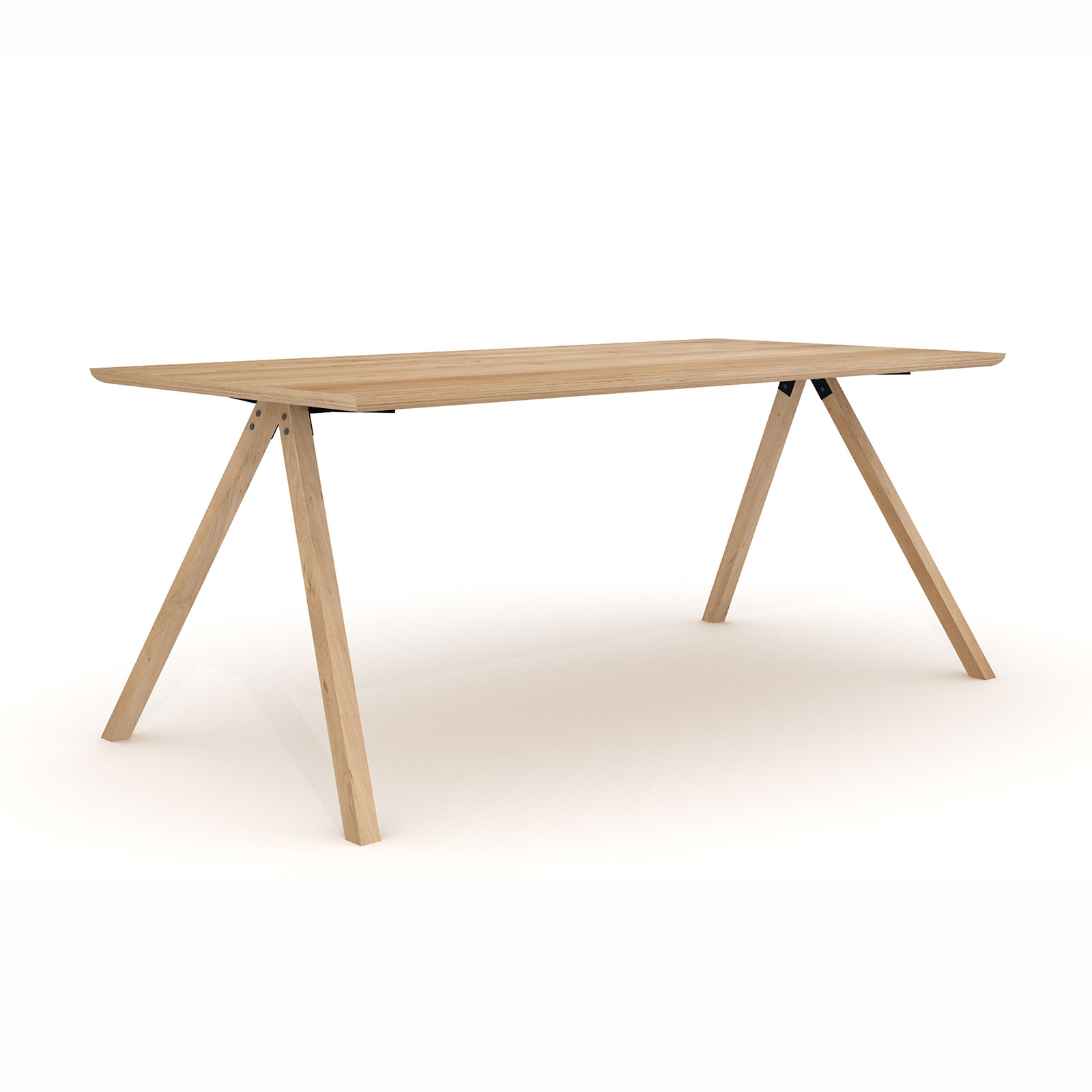 Etagere Universo Positivo Dining Table Flow Table In Solid Oak Universo Positivo