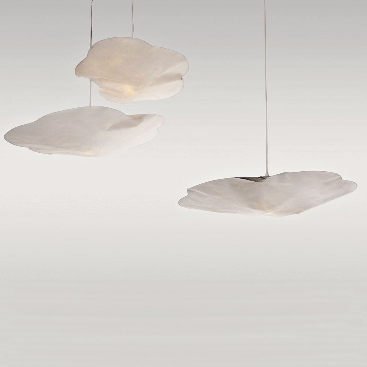 Suspension Luminaire Papier Suspension Nuage