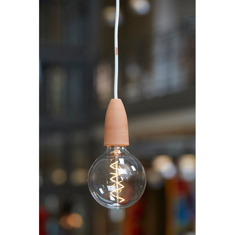 In Wall Toilet Paper Storage Decorative Led Bulb - Spiral Filament Bulb By Nud Collection