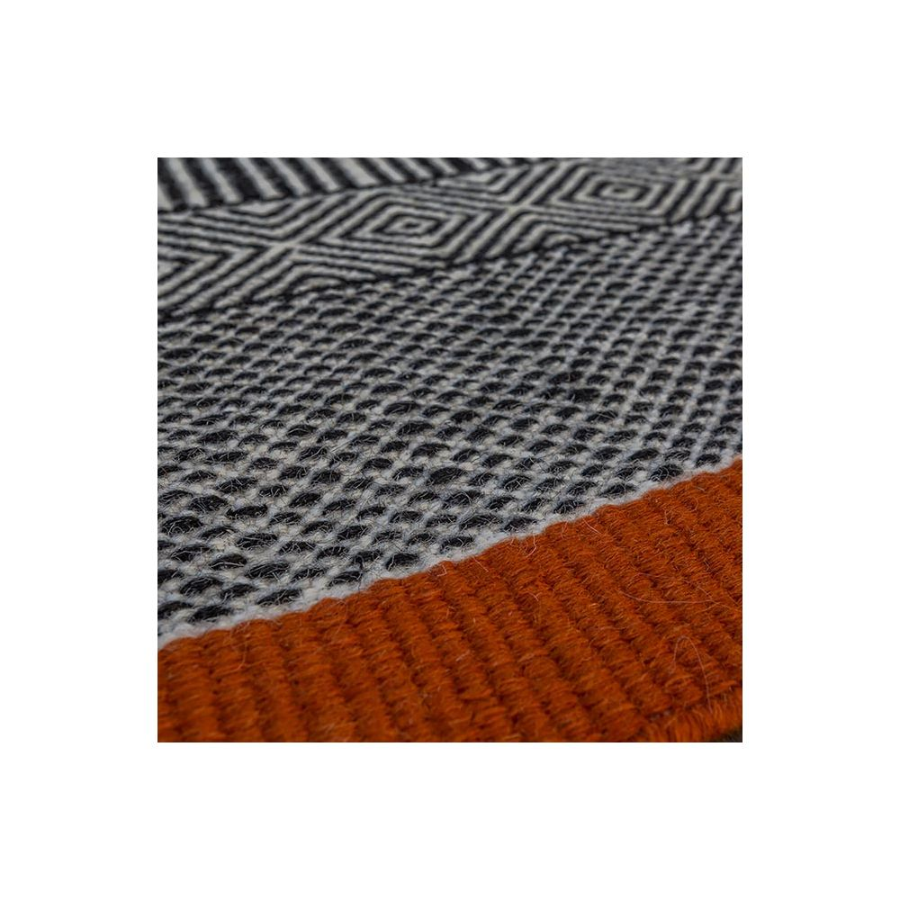Tapis Salon Tapis Tryptik Orange Edito