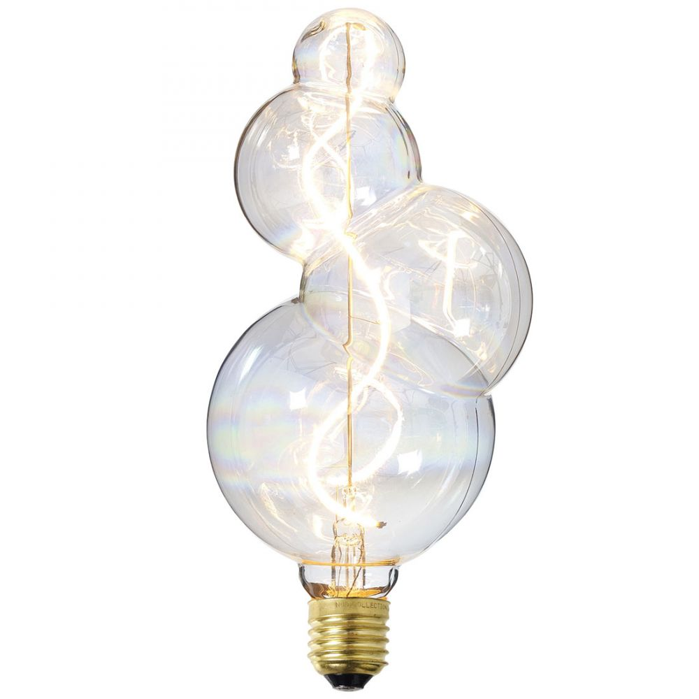 In Wall Toilet Paper Storage Design Filament Led Bulb Bubble - Decor Bulb Nud Collection