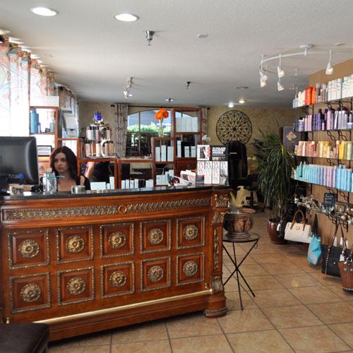 pure elements salon - front desk - salon paso robles -