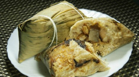 RICE DUMPLINGS from YONG SHENG CONFECTIONERY to celebrate DRAGON BOAT FESTIVAL
