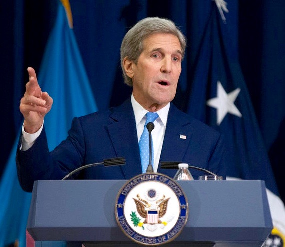 Kerry's  and Netanyahu speech on Israel Middle East