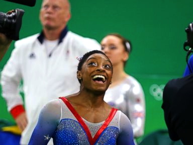Simone Biles Wins 4th Gold Medal in Rio
