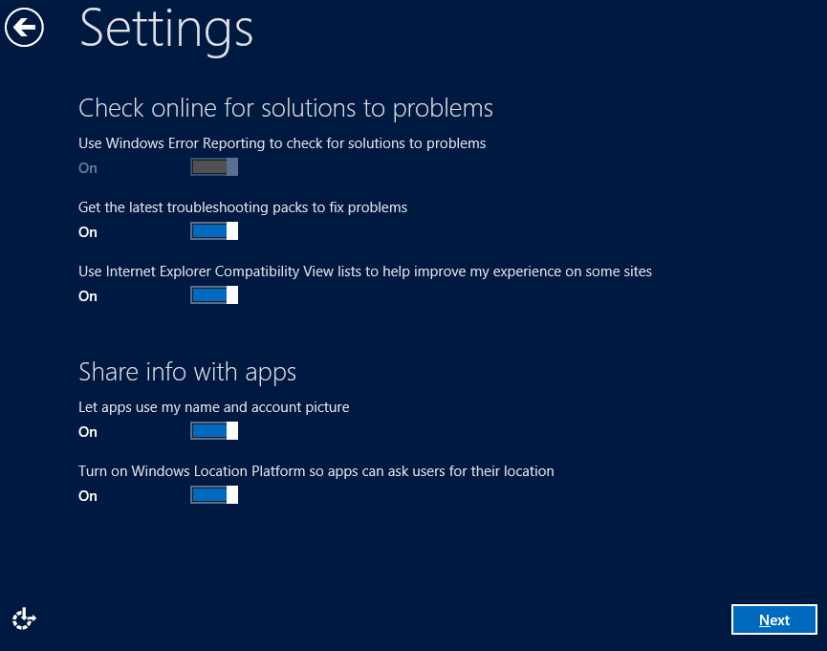 Solutions  - Windows 8 Consumer Preview