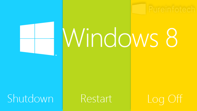 Start screen shutdown button