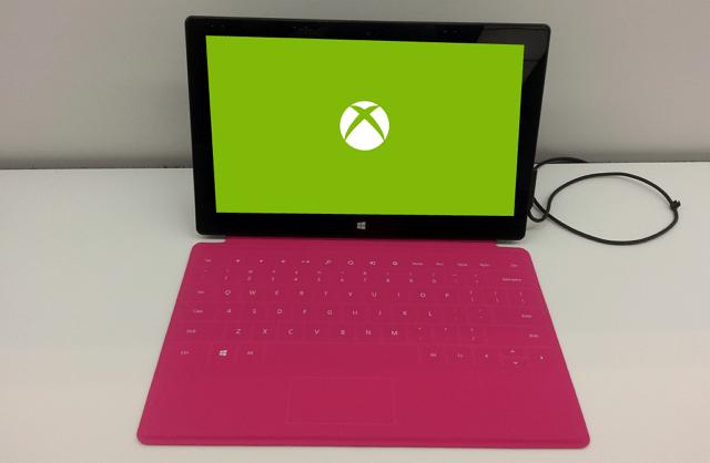 Xbox Surface mockup