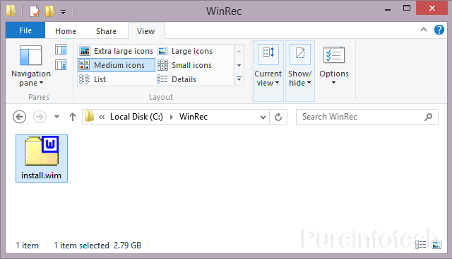 Win 8 Install.wim image file download