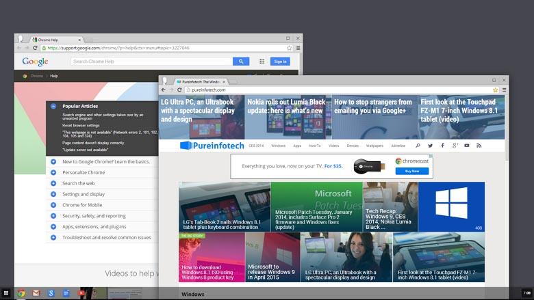 Chrome OS in Windows 8.1