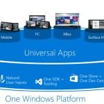 Microsoft universal app platform