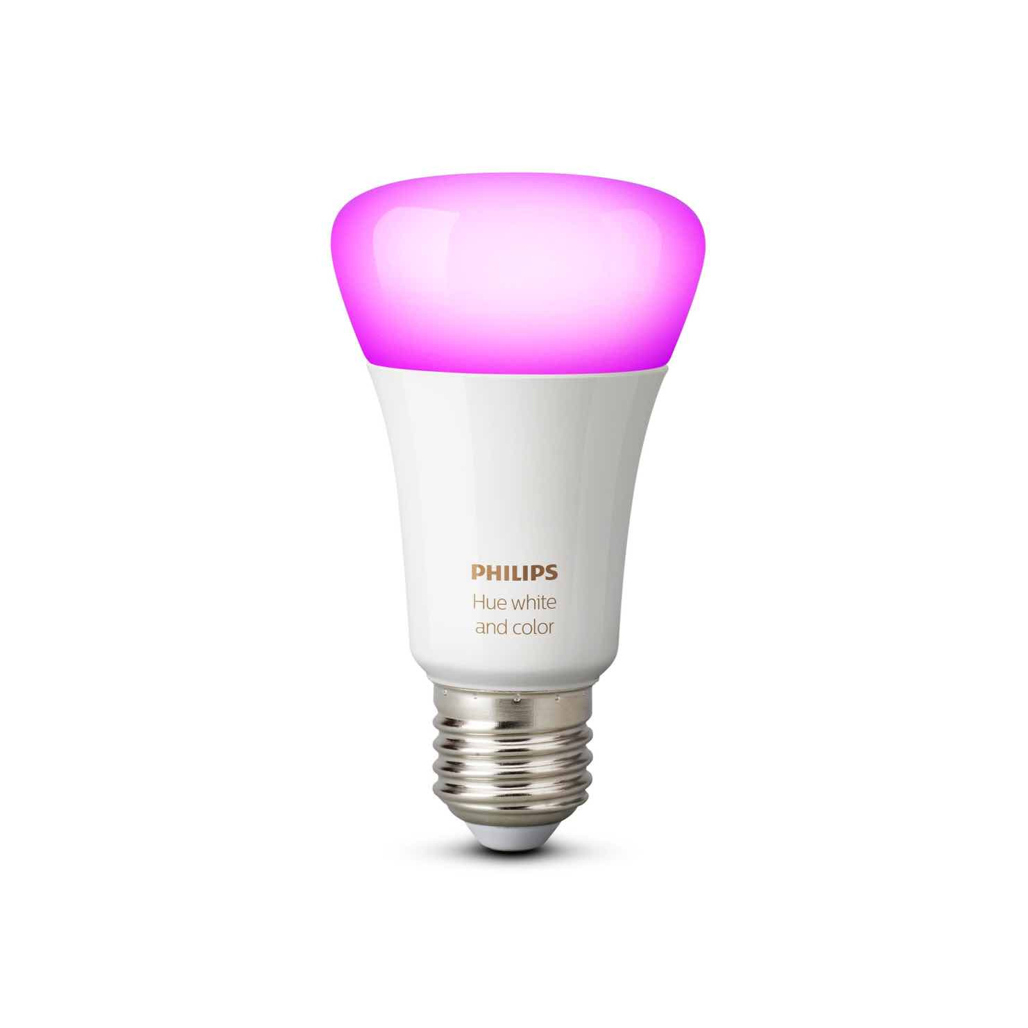Philips Colour Lamp Philips Hue White And Color Ambiance E27 Lamp