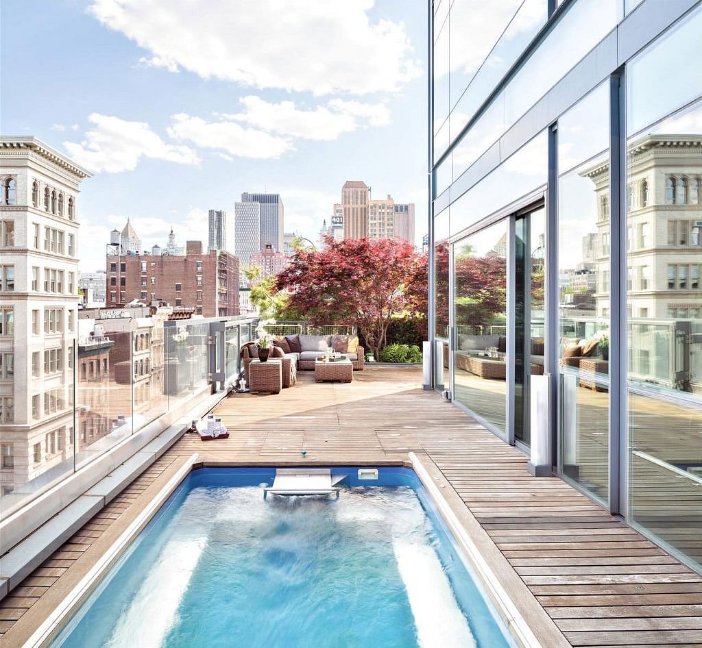 Hotels New York Met Zwembad Project State: New York In Amsterdam? Inclusief Penthouse