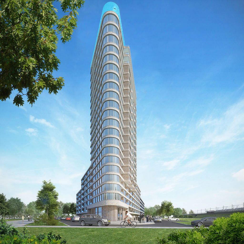 Amstel Zwembad Project State New York In Amsterdam Inclusief Penthouse