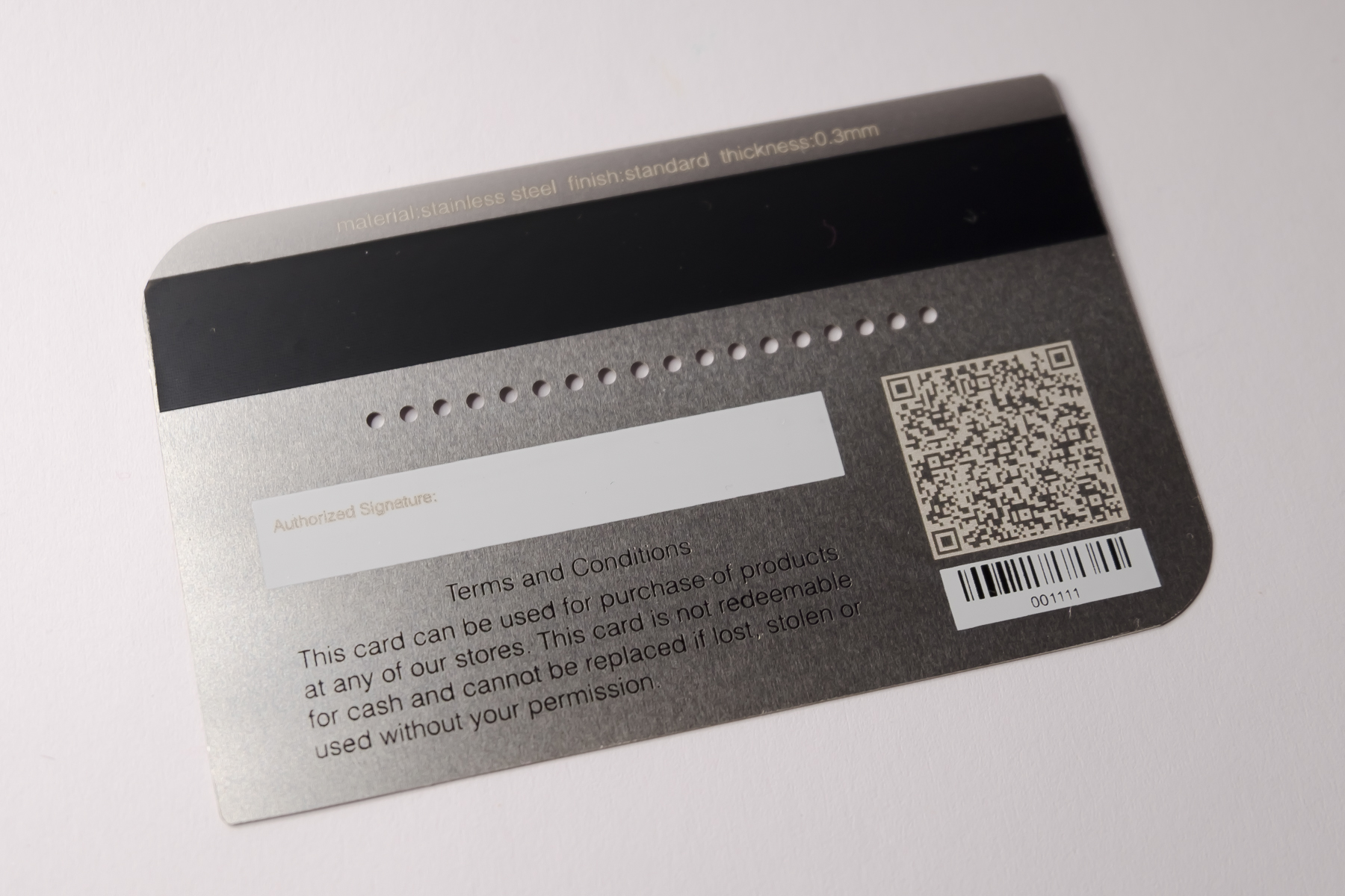 Gamma Klantenkaart Build Customer Loyalty With Metal Gift Cards Pure Metal