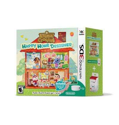 Animal Crossing: Happy Home Designer Bundle Includes NFC Reader - Pure Nintendo