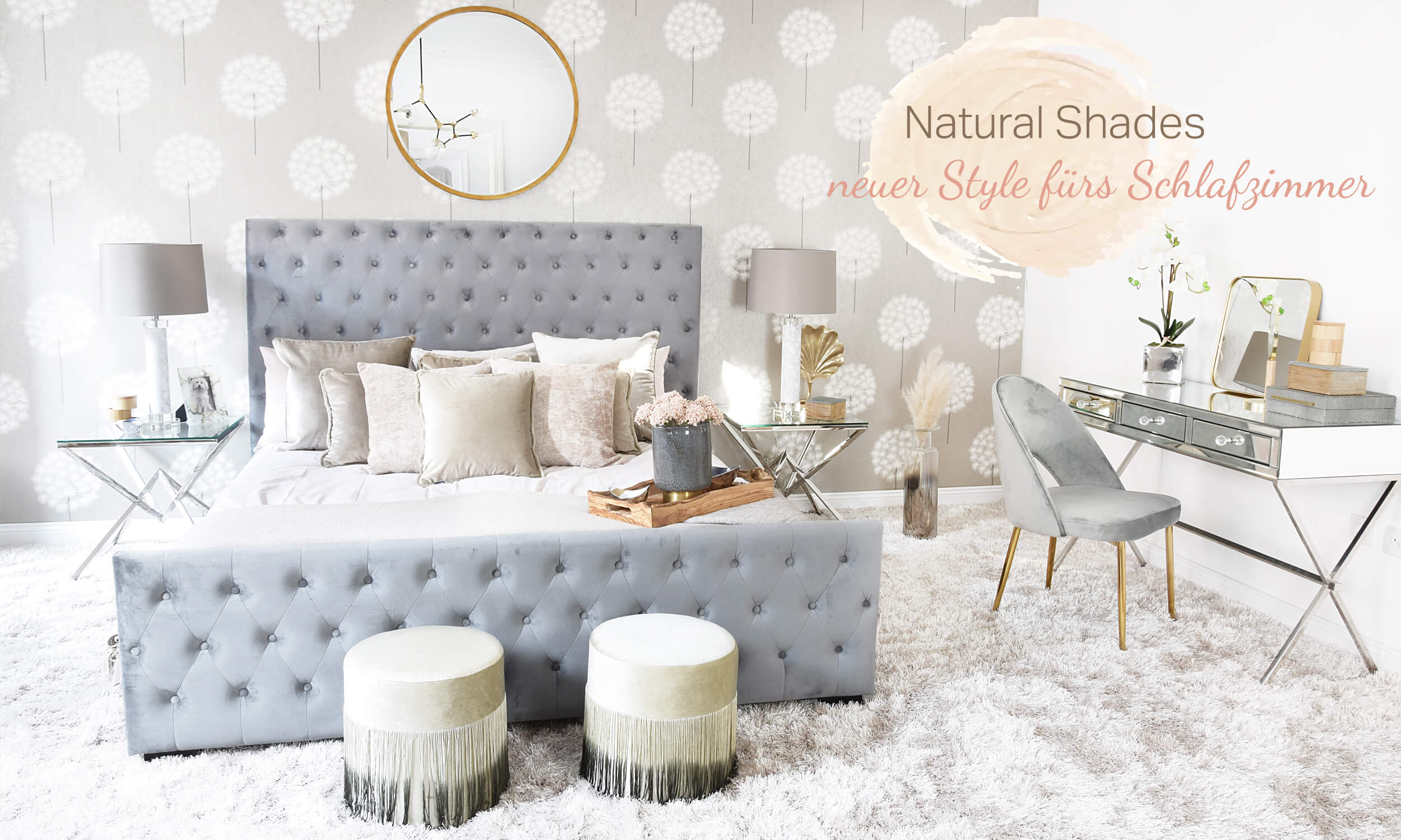 Natural Shades Bedroom Schlafzimmer In Naturtönen Looks