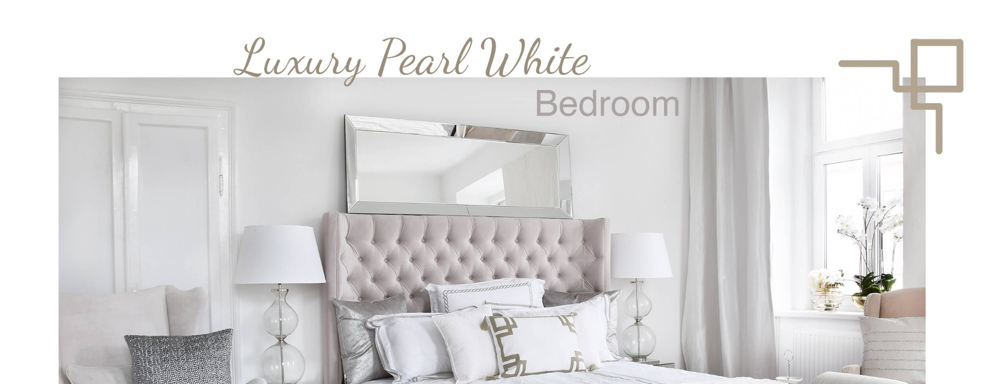 Bettbank Leder Luxury Pearl White Bedroom Looks