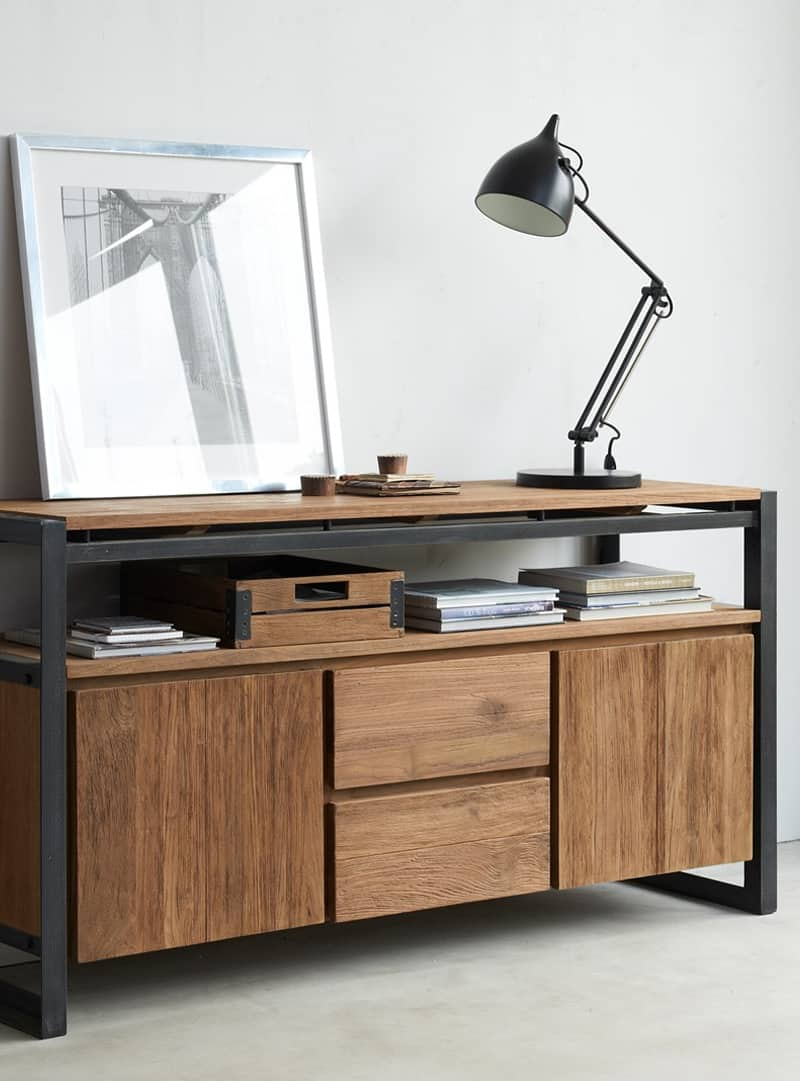 Industrieel Interieur Dressoir Industrieel Dressoir