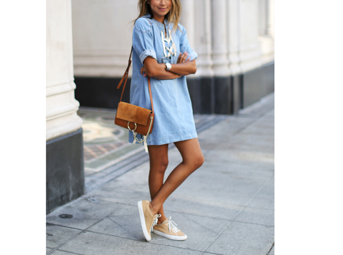 13 Dresses You Can Wear With Sneakers Purewow