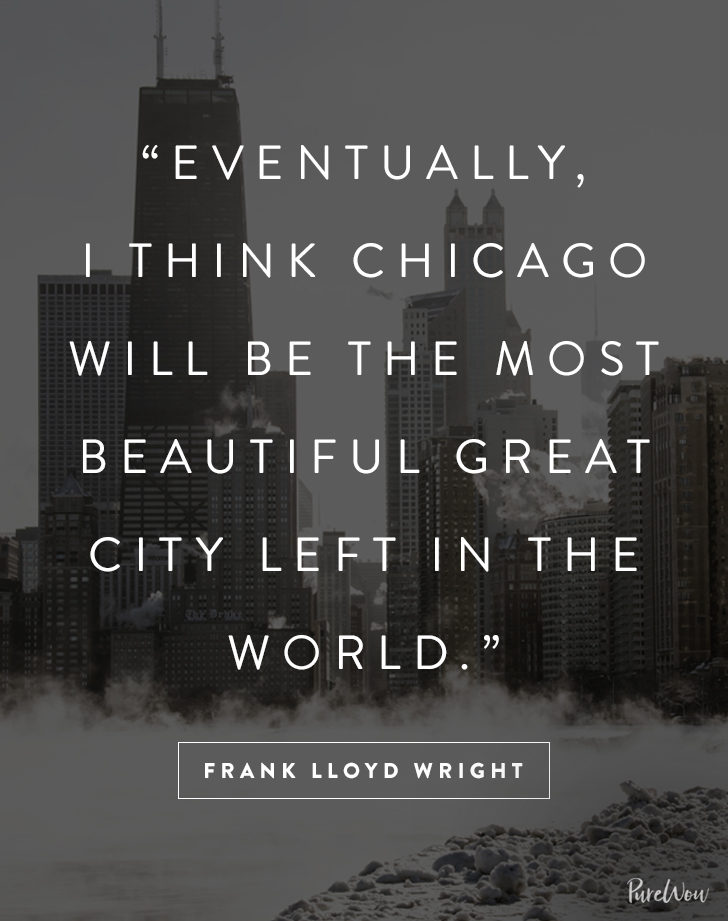 Desktop Wallpaper Motivational Quotes 10 Great Quotes About Chicago Purewow