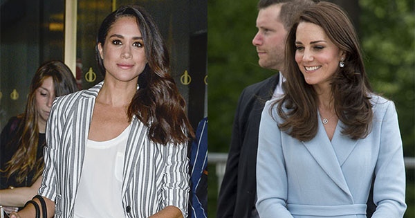 Meghan Markle Kate Middleton Wearing Same Shoes Purewow