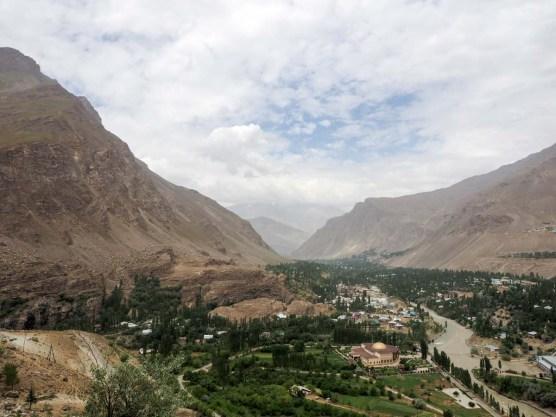 Khorog, Pamir Highway, Tadschikistan