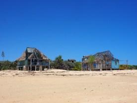 Verlassene Häuser in Anakao