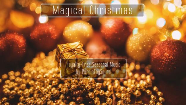 Royalty-Free Christmas Music - Magical Christmas Purple Fog Music