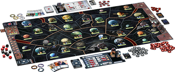 Juego Mesa Star Wars Star Wars Rebellion Board Game From Ffg By Purple Pawn