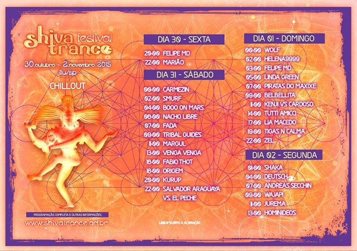 shiva trance 2015