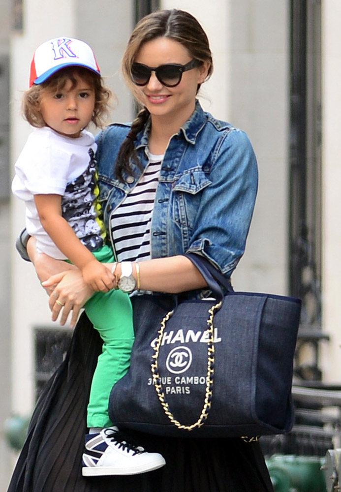 Baby Stroller Bag The Many Bags Of Celebrity Moms Purseblog