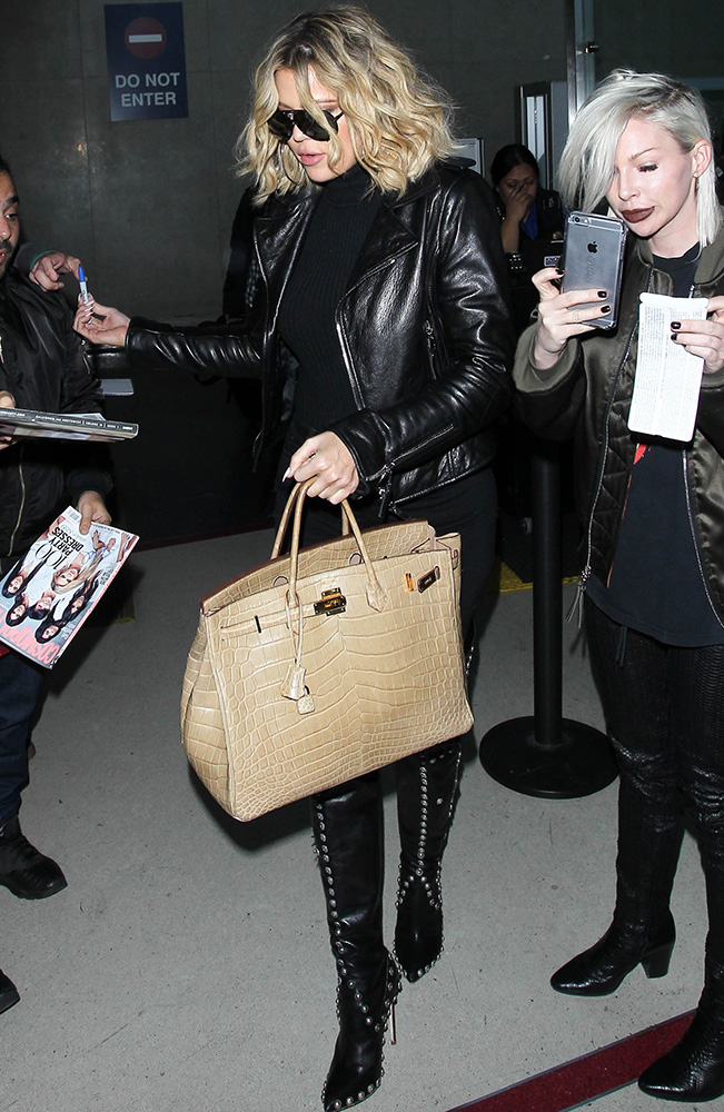 4 20 Just Can't Get Enough: Khloé Kardashian's Hermès Birkin