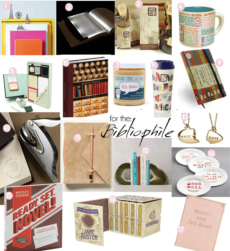 Gift Guide for the Bibliophile