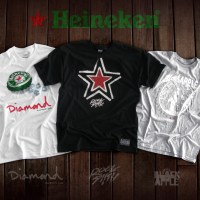 Heineken Partners for Limited Edition Tees and Caps