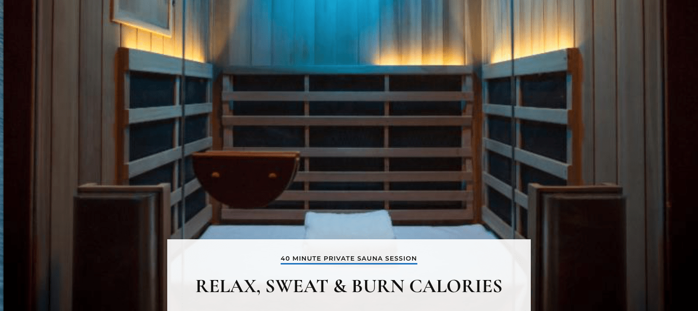 Sauna 24 Pūr Sweat Infrared Sauna Studio