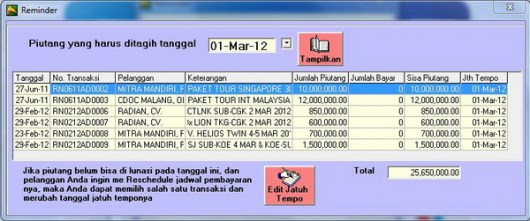 Contoh Laporan Keuangan Travel Agent Laporan Kas Keuangan Usaha Travel Agent Kas Besar Kas Software Keuangan Biro Perjalanan Wisata Travel Agent February 2014