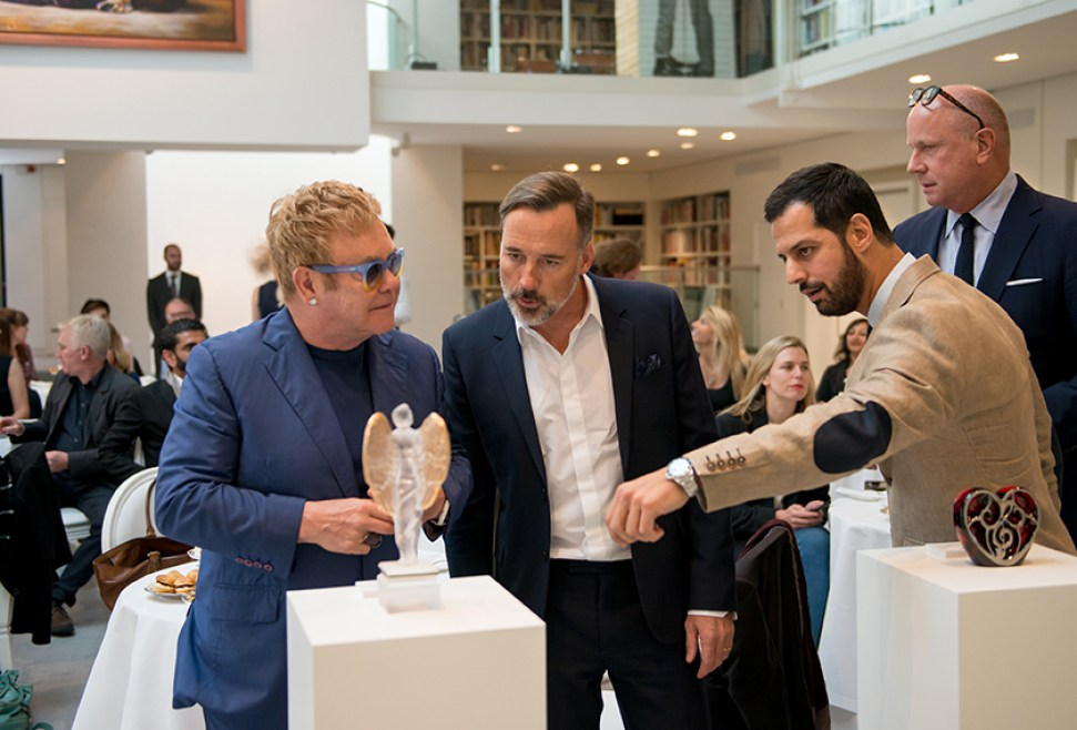 Elton-John-David-Furnish-Maz-Zouhairi-Scott-Campbell-International-launch-event-LALIQUE