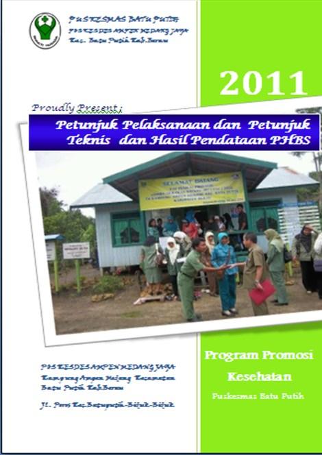 Jurnal Phbs  Jurnal Tahunan Petunjuk Pelaksanaan Petunjuk Teknis Dan Pendataan Phbs