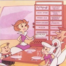 jetsons, meal, pill, engineered foods