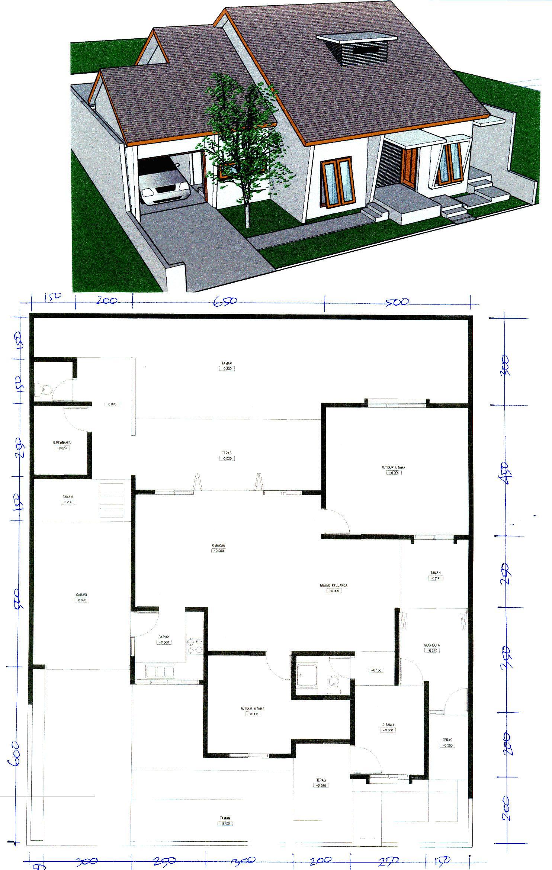 Desain Rumah Pinggir Jalan