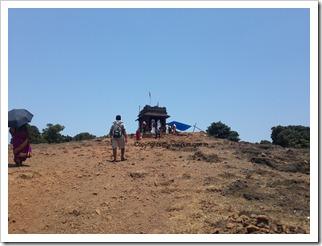 kodachadri hilltop temple