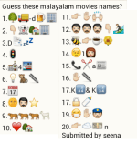 Guess Movie Whats App Malayalam Name
