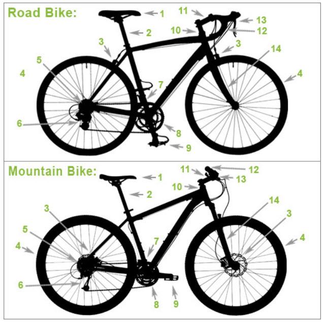 anatomy of a bike